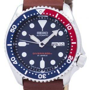 Seiko Automatik Diver Canvas Riemen SKX009J1-NS1 200M Herrenuhr