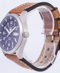 Seiko 5 Sports SNZG11J1-LS17 automatische braun Leder Armband Herrenuhr
