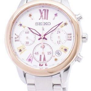 Seiko Lukia Limited Edition SRWZ82 SRWZ82P1 SRWZ82P Chronograph Damenuhr