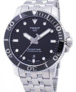 Tissot T-Sport Seastar T120.407.11.051.00 T1204071105100 Powermatic 80 300M Herrenuhren