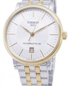 Tissot T-Classic Carson T122.407.22.031.00 T1224072203100 Powermatic 80 Herrenuhren