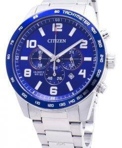 Citizen Chronograph AN8161-50L Tachymeter Quarz Herrenuhr