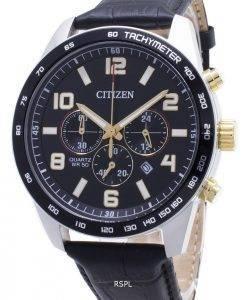 Citizen Chronograph AN8166-05E Tachymeter Quarz Herrenuhr