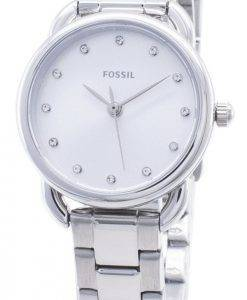 Fossil Tailor Mini ES4496 Diamond Accent Analog Damenuhr