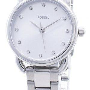 Fossil Tailor Mini ES4496 Diamond Accent Analog Damenuhr