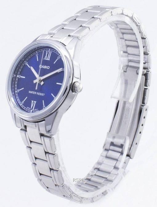 Casio Timepieces LTP-V005D-2B2 LTPV005D-2B2 Quartz Analog Damenuhr