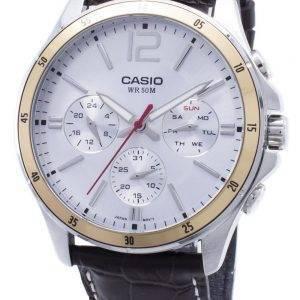 Casio Enticer MTP-1374L-7AV MTP1374L -7AV Chronograph Analog Herrenuhr
