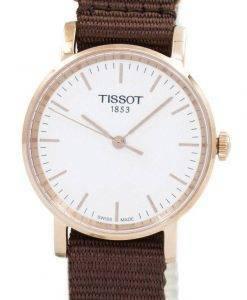 Tissot T-Classic jedes Mal kleine Quarz T109.210.37.031.00 T1092103703100 Damenuhr