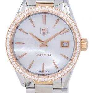 TAG Heuer Carrera Quarz Diamant Akzent WAR1353. BD0779 Damenuhr