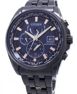 Citizen Eco-Drive Global funkgesteuerte AT9039-51L Japan Made 200M Herrenuhr