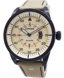 Citizen Eco-Drive Aviator Power Reserve AW1365 - 19p Herrenuhr
