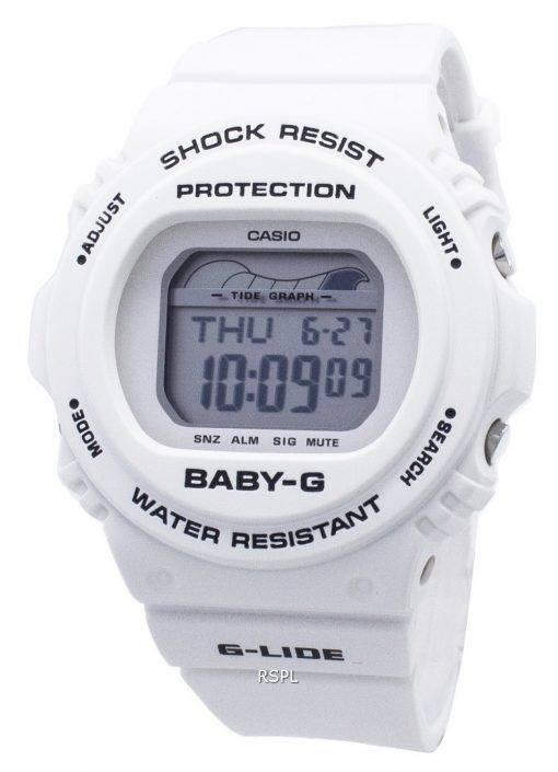 Casio Baby-G G-Lide BLX-570-7 BLX570-7 Stoßfeste 200M Damenuhr
