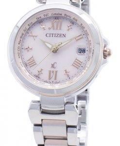 Citizen xC Eco-Drive EC1034-59W Funkuhr für Damen