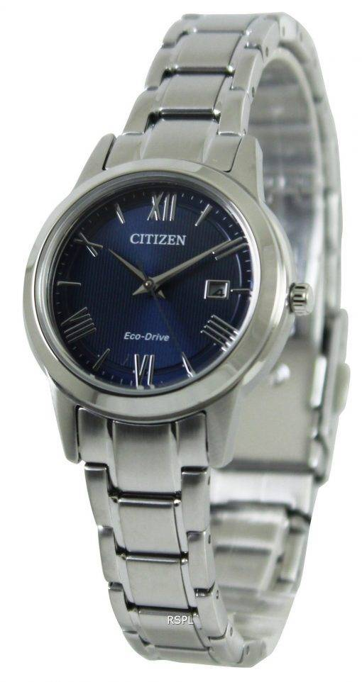 Citizen Eco-Drive Blue Dial FE1081 - 59L Damenuhr