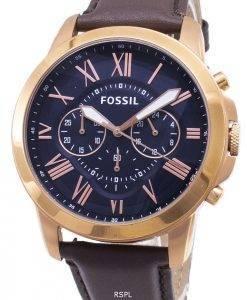 Fossil gewähren Chronograph Rose Gold-Ton FS5068 Herrenuhr