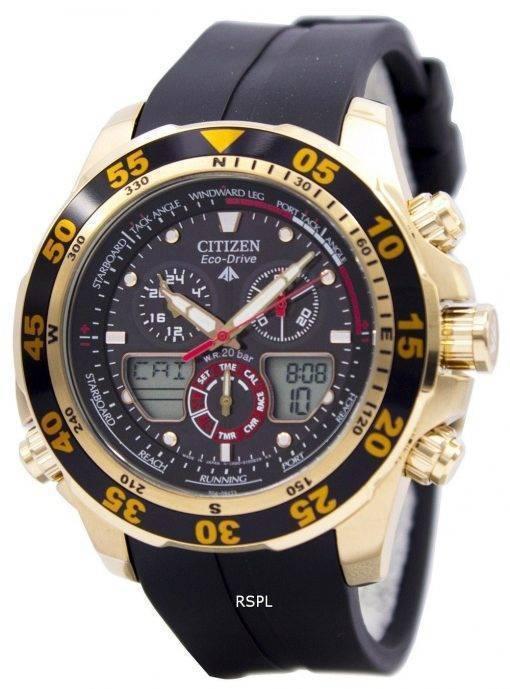 Citizen Eco-Drive Promaster Chronograph World Time JR4046-03E JR4046 Herrenuhr