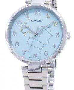 Casio Quarz LTP-E08D-3A LTPE08D-3A Analog Damenuhr