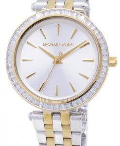Michael Kors Mini Darci Two Tone Kristalle MK3405 Damenuhr