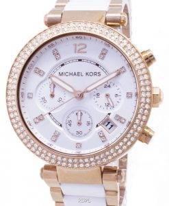 Michael Kors Parker Chronograph Kristalle MK5774 Damenuhr