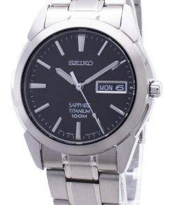 Seiko Titan-Saphir SGG731P1 SGG731 SGG731P Herren Uhr