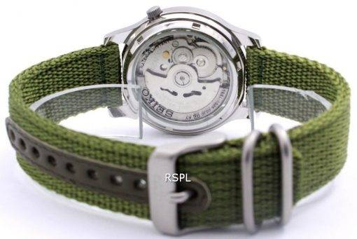 Seiko 5 Military Automatic Nylon Herrenuhr SNK805K2 SNK805