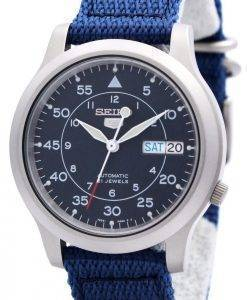 Seiko 5 Military Automatic Nylon Herrenuhr SNK807K2 SNK807