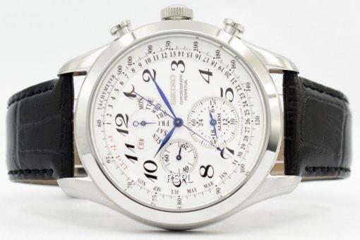 Seiko Chronograph ewiger Kalender SPC131P1 SPC131P Herrenuhr