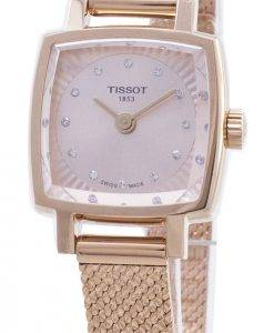 Tissot T-Lady Lovely Square T058.109.33.456.00 T0581093345600 Diamond Accents Damen uhr