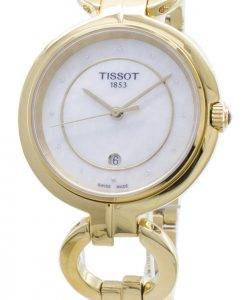 Tissot T-Lady Flamingo T094.210.33.116.00 T0942103311600 Diamond Accents Damen uhr