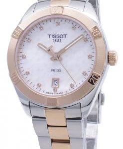 Tissot T-Classic PR100 T101.910.22.116.00 T1019102211600 Diamond Accents Damen uhr