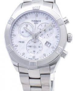 Tissot T-Classic PR 100 Sport Chic T101.917.11.116.00 T1019171111600 Chronograph Damenuhr