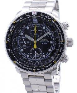Seiko Flight Alarm Chronograph SNA411P1 SNA411P SNA411 Pilot's uhr