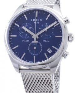 Tissot T-Classic PR 100 T101.417.11.041.00 T1014171104100 Chronograph Herrenuhr