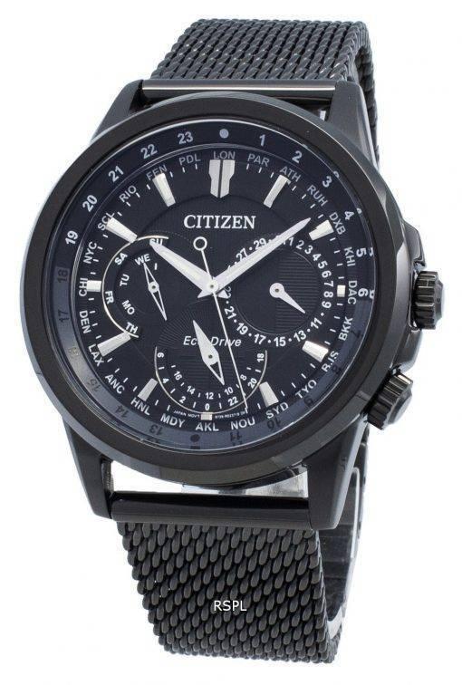 Citizen Calendrier Eco-Drive BU2025-76E Chronograph Weltzeit Herrenuhr