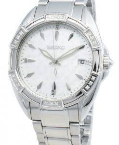 Seiko Classic SKK883P SKK883P1 SKK883 Diamond Accents Quarz Damenuhr