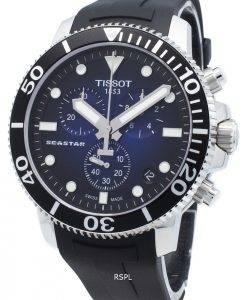 Tissot Seastar 1000 T120.417.17.041.00 T1204171704100 Chronograph 4 Jewels Quartz 300M Herrenuhr