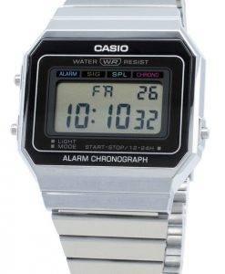 Casio Youth Digital A700W-1A A700W-1 Alarm Quarz Herrenuhr