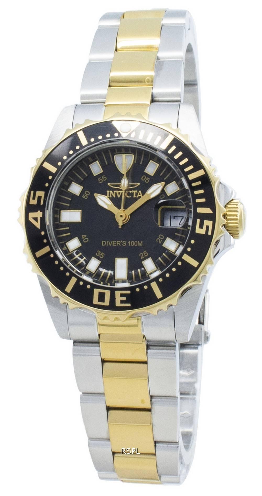 Invicta Pro Diver 2960 Quartz 100M Damenuhr
