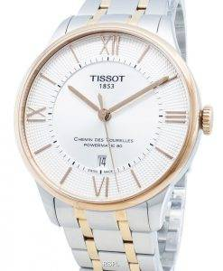 Tissot Chemin Des Tourelles T099.407.22.038.02 T0994072203802 23 Jewels Automatic Herrenuhr