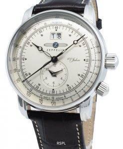 Zeppelin 100 Jahre 7640-1 76401 Quarz Tachymeter Herrenuhr