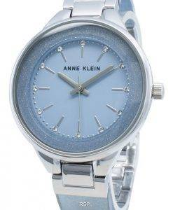 Anne Klein Diamond Accent 1409LBSV Quarz Damenuhr
