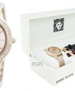 Anne Klein 3418RGST Diamond Accent Quartz Damenuhr