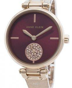 Anne Klein 3000BYRG Diamond Accents Quarz Damenuhr