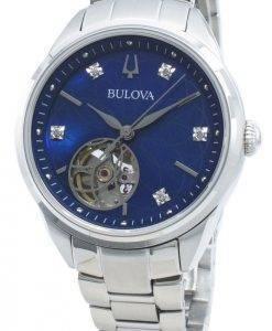 Bulova Classics 96P191 Diamond Accents Automatic Damenuhr