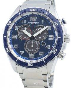 Citizen AR AT2440-51L Eco-Drive Tachymeter Herrenuhr