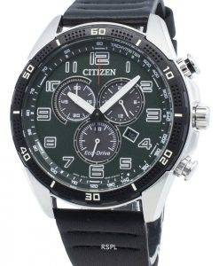 Citizen AR AT2441-08X Eco-Drive Tachymeter Herrenuhr