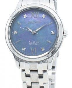 Citizen Eco-Drive EM0720-85N Diamond Accents Damenuhr