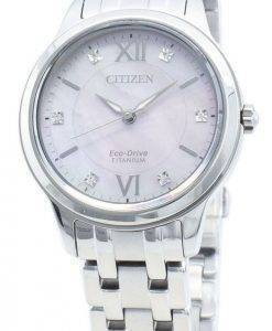 Citizen Eco-Drive EM0720-85Y Diamond Accents Damenuhr