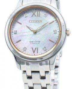 Citizen Eco-Drive EM0726-89Y Diamond Accents Damenuhr
