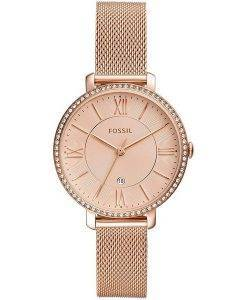 Fossil Jacqueline ES4628 Diamond Accents Quarz Damenuhr